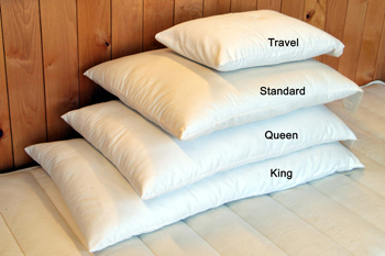 Wool-Filled Pillows